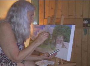 Jay Topaz painting