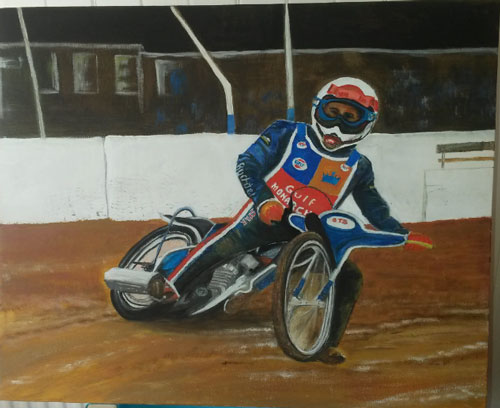 Grant Blackie - Edinburgh Monarchs
