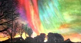 Northern Lights II by Jay Topaz