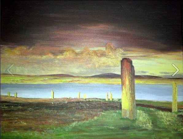 Daybreak Storm at Brodgar