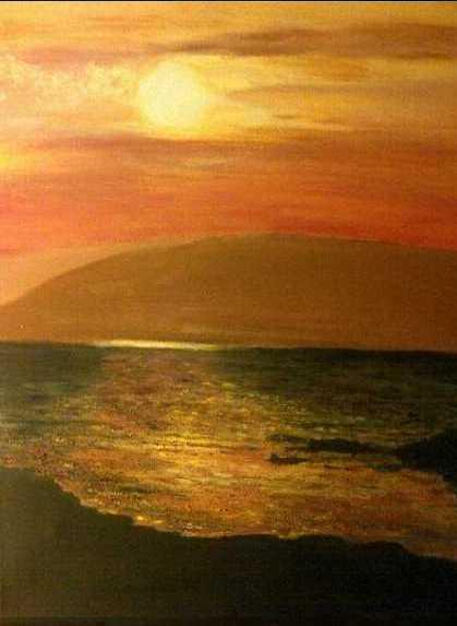 Island Sunset at Morar