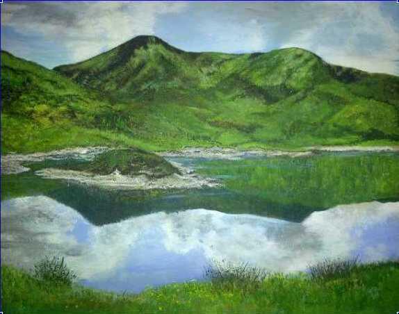 Loch Cluanie in Summer