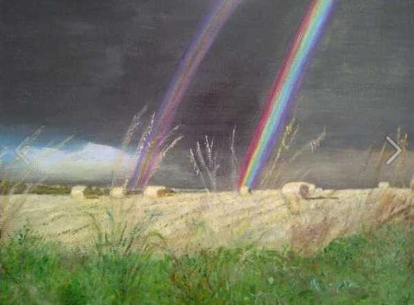 Rainbow Harvest in Aberdeenshire